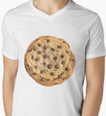 Chocolate Chip Cookie Men's V-Neck T-Shirt