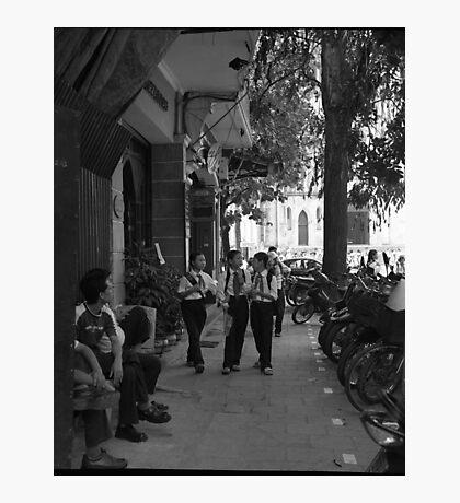 Street scene Hanoi Photographic Print