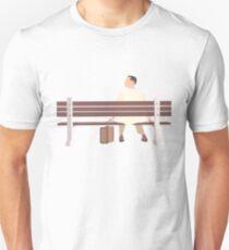 Forrest Gump Minimalist Art Work Unisex T-Shirt