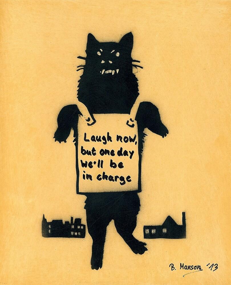 Monster Cat by Bela-Manson