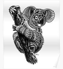Ornate Koala Poster
