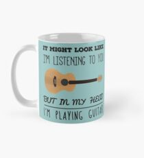 Taza Guitarra mental