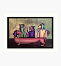 Hotdog Art Print