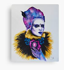 Nebulae Queen Canvas Print