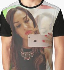 Nikki Bella Picture Graphic T-Shirt