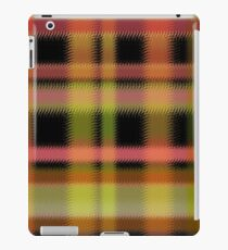 Seamless retro textile tartan checkered texture plaid pattern print iPad Case/Skin