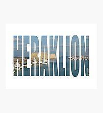 Heraklion Photographic Print