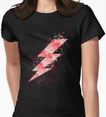 Flash lightning bolt  Women's Fitted T-Shirt