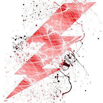 Flash lightning bolt  by leedavies88