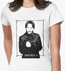 The Matrix 4 Womens Fitted T-Shirt
