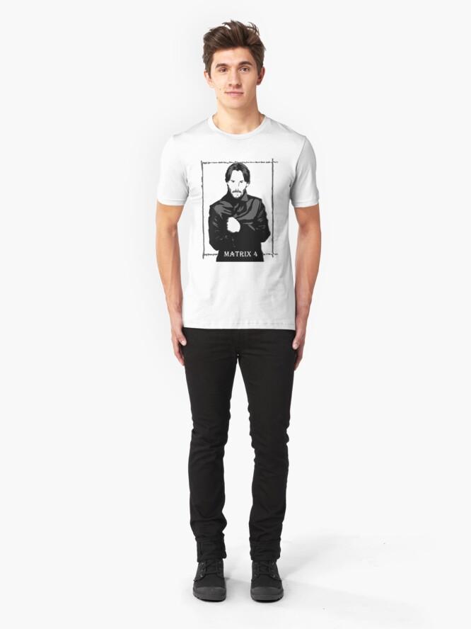 Alternate view of The Matrix 4 Slim Fit T-Shirt