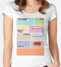 Real Life Superheroes Women's Fitted Scoop T-Shirt
