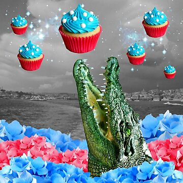 cuppa croco cakes -- rare celestial phenomenon by dogmycat