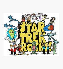 Star Trek Rocks Photographic Print