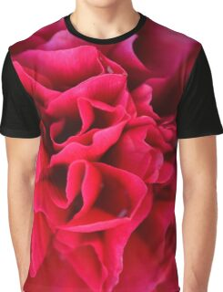 Peony Close Up Graphic T-Shirt