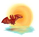 Little Red Bat by Lacey  Ewald