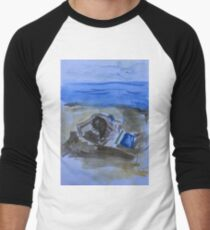 beach game Men's Baseball ¾ T-Shirt