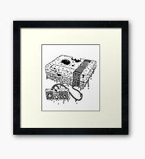Dead System (Nintendo Entertainment System Framed Print