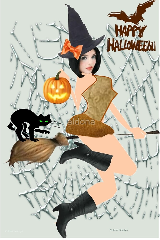 Halloween Greeting (7701  Views) by aldona