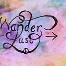watercolour wanderlust peace sign arrow by cocodesigns