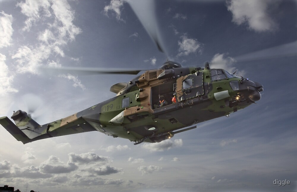 Taipan Multi Role Helicopter by diggle