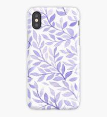 Lavender herbs iPhone Case