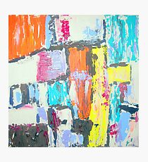 Bright Abstract Photographic Print
