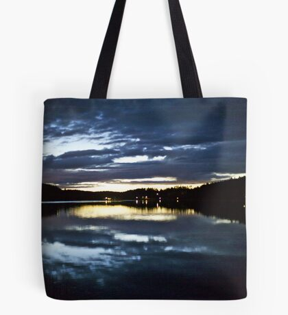 6912 .VSOP.★★★★★★ . Lappland Night Landscape . Sweden. Brown Sugar Story.Featured on the redbubble Explore Page!* and ARTWORK DUTCH SHOWCASE. This image Has Been S O L D . Tote Bag