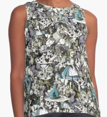 Alice wants a toke collage Contrast Tank