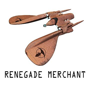 Renegade Merchant - with retro font by frontiers