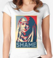 Shame Women's Fitted Scoop T-Shirt