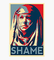 Shame Photographic Print