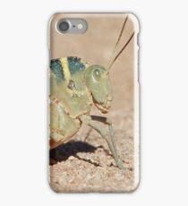 Grasshopper with a Hump iPhone Case/Skin