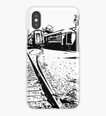 """train cars"" abstract iPhoneography iPhone Case/Skin"