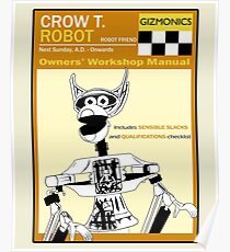 Crow T. Robot Owners Manual  Poster