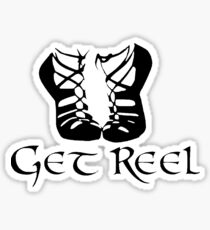IRISH DANCE GET REEL Sticker