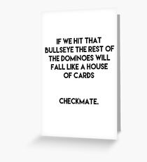 Checkmate - Futurama Greeting Card