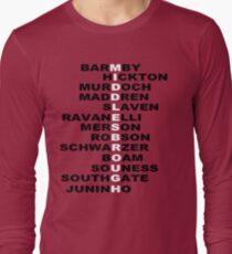 MIDDLESBROUGH F C BORO LEGENDS Long Sleeve T-Shirt