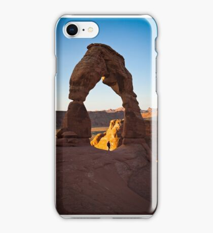 Delicate Arch, Arches National Park iPhone Case/Skin