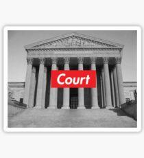Supreme Court Sticker
