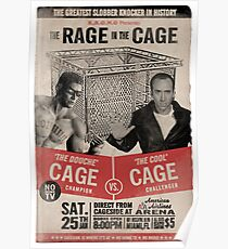 The Rage in the Cage Poster Poster