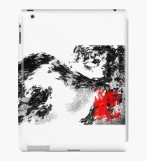 Japanese snow mountain scene iPad Case/Skin