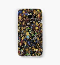 Simpsons style characters Samsung Galaxy Case/Skin