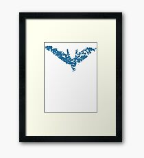 Nightwing Rises Framed Print