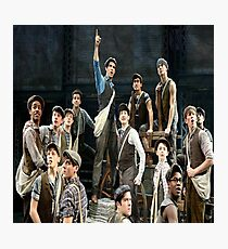 Newsies Stop The World Photographic Print