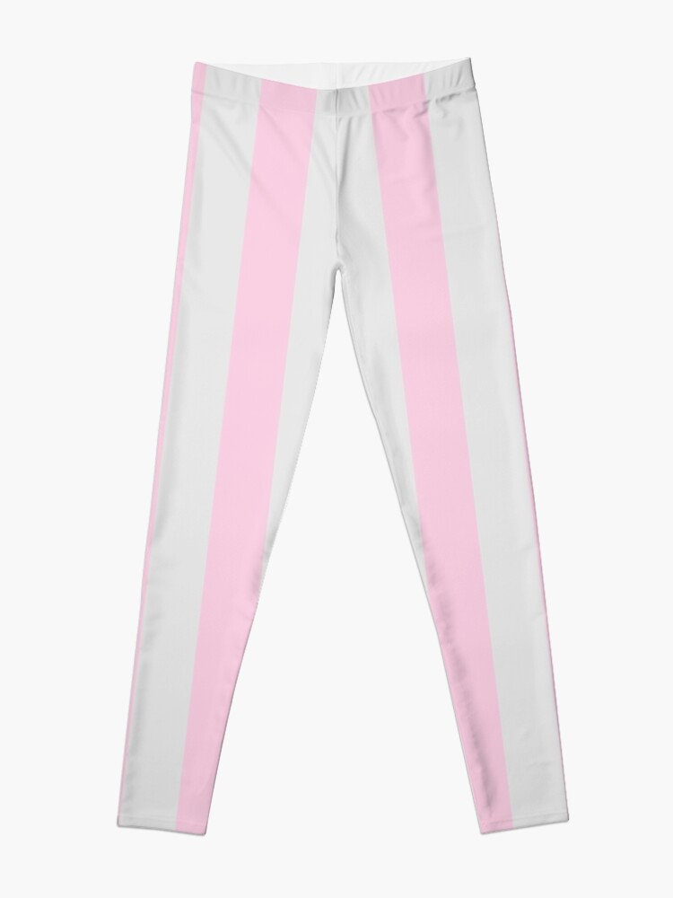 2b3a5d4a04f41 Soft Baby Pink and Light Grey Vertical Circus Tent Stripes