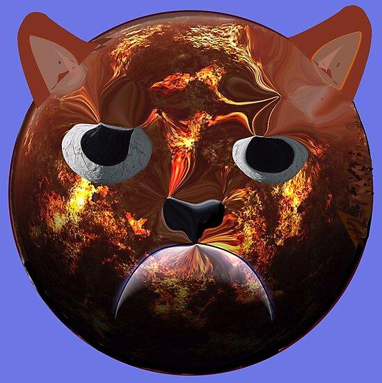 Grumpy Cat Planet by VividScene