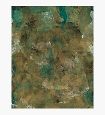 Patina Brass Photographic Print