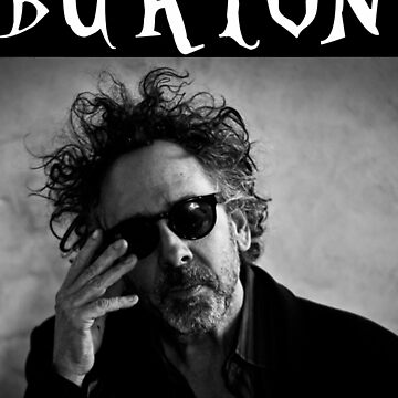 Tim Burton - Portrait by Monky695