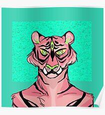 Pink Tiger Poster